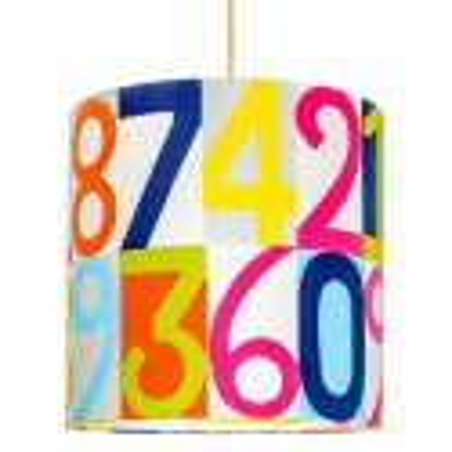 Numbers Lampshade Ø32cm