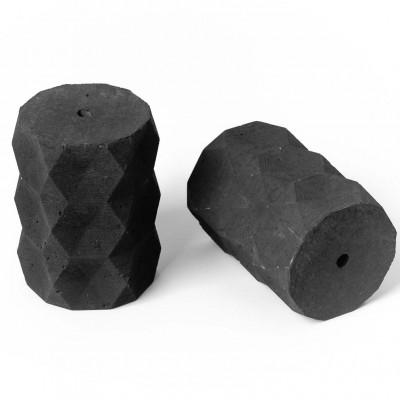 Oprawka betonowa typ A E27 Kolorowe Kable - antracytowa
