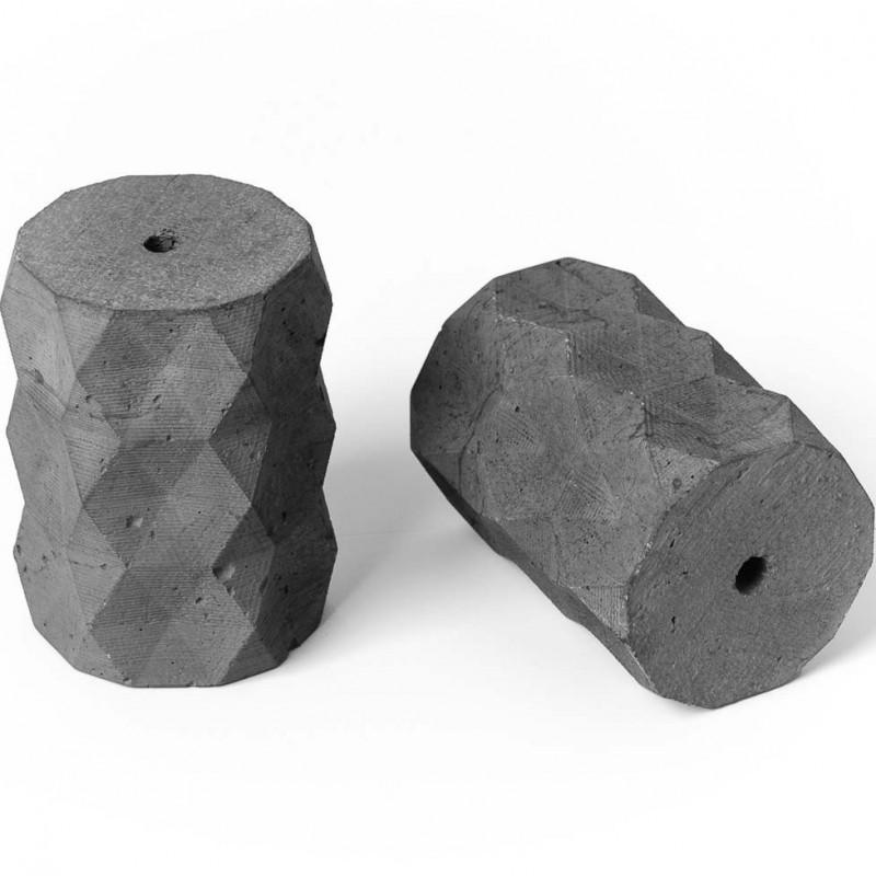 Concrete lamp holder type A E27 - natural
