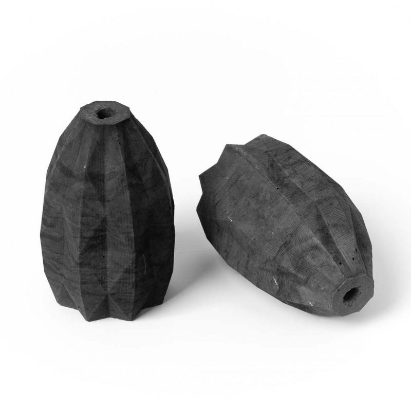 Concrete lamp holder type A E27 - anthracite