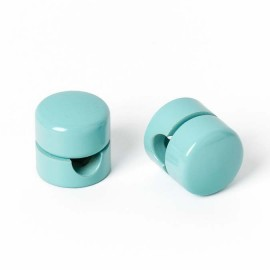 Cable holder light blue / mint Kolorowe Kable