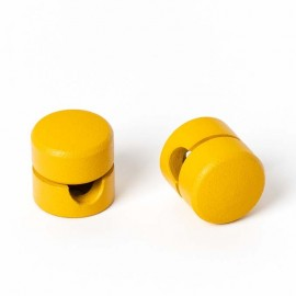Cable holder yellow structural Kolorowe Kable