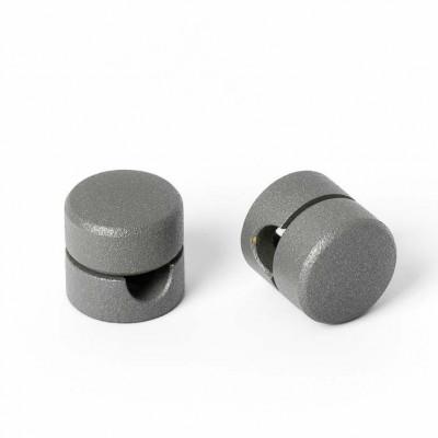 Uchwyt do kabla w kolorze szarym z drobinkami srebra Kolorowe Kable