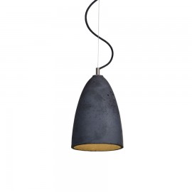 Concrete pendant lamp Febe M LOFTLIGHT