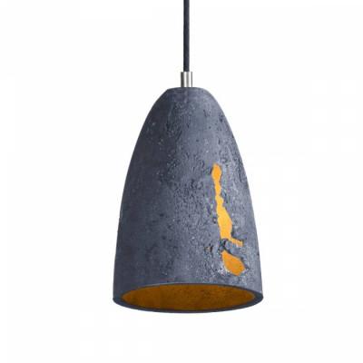 Concrete pendant lamp Febe S Volcano LOFTLIGHT