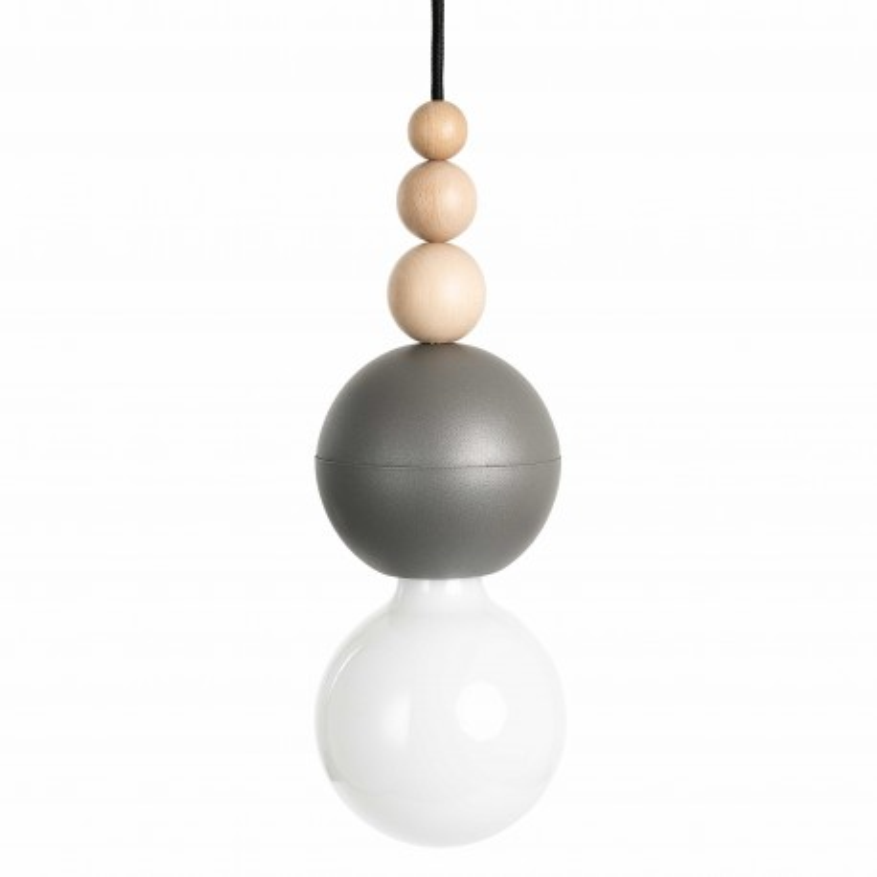 Loft Bala dark grey structural pendant lamp