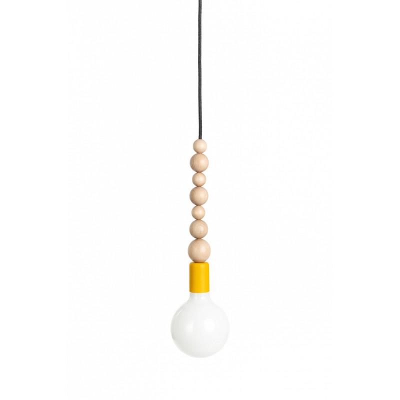 Loft Sfarer żółta structural pendant lamp
