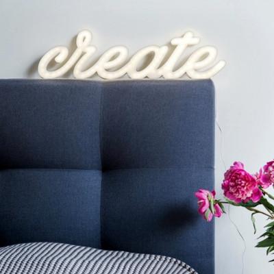 Świecący napis CREATE Ledon TWÓRCZYWO