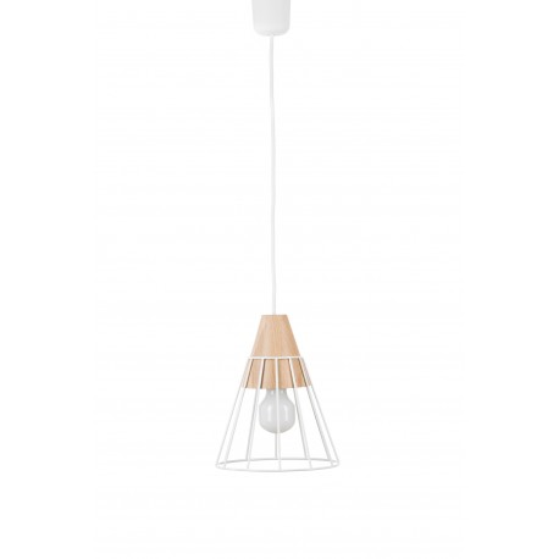Lampa wisząca DRUU - M, biała NUUA