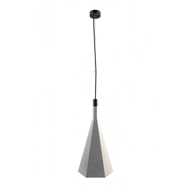 Ceiling concrete lamp XY NUUA