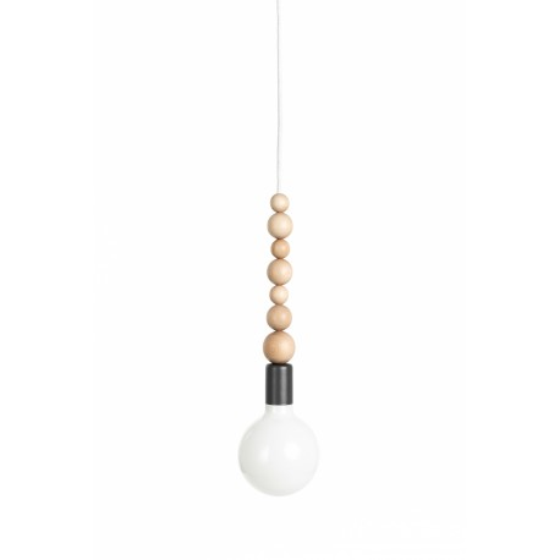 Loft Sfarer dark grey structural pendant lamp