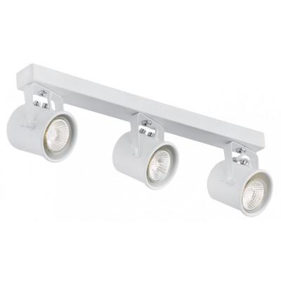 Potrójna biała lampa sufitowa ALTER 3 listwa reflektorków KASPA