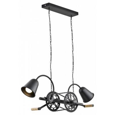 Bike lampa wisząca czarna