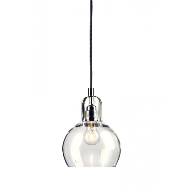 Longis I lampa wisząca (przewód czarny)