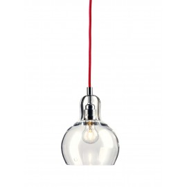 Longis I Pendant Lamp (red cable)