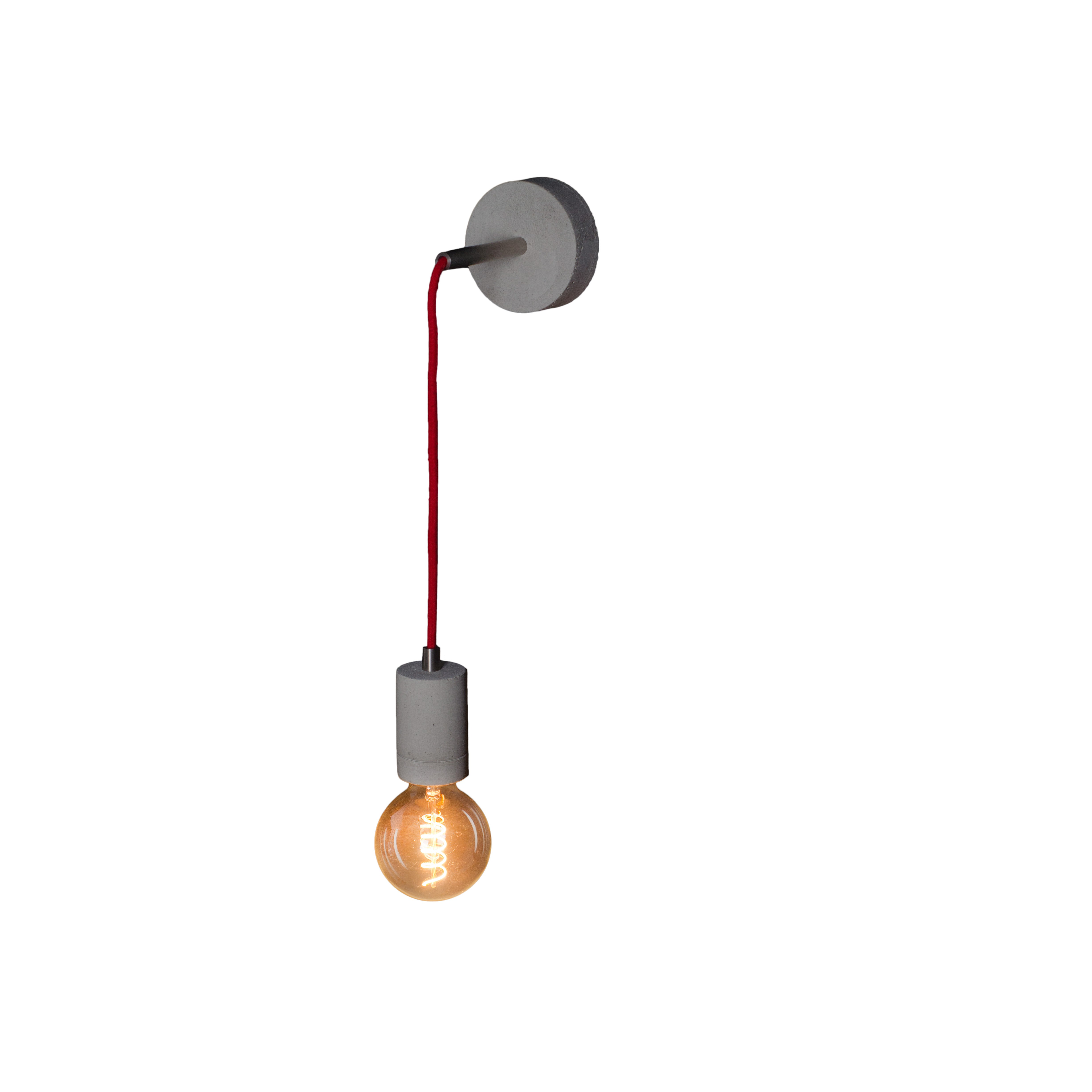 Concrete wall lamp wall lamp Kalla Wall STEEL LOFTLIGHT