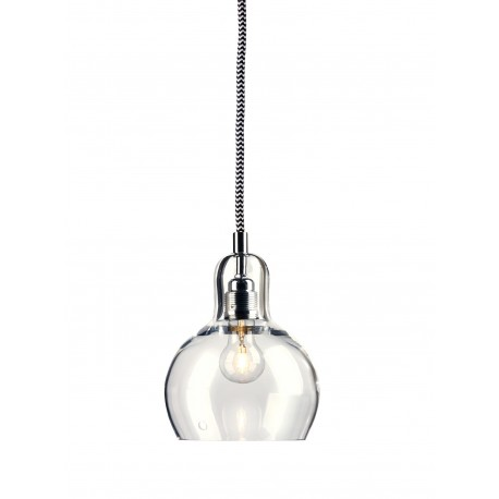 Longis I Pendant Lamp (white-black cable)